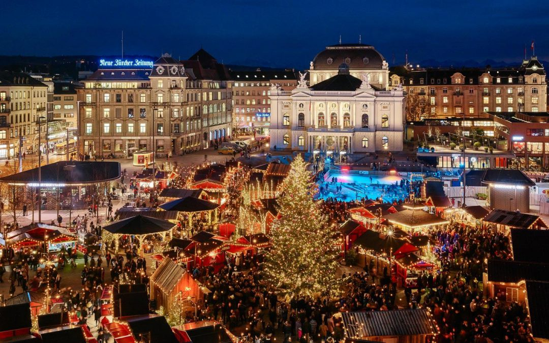 Weihnachtsdorf Zürich Bellevue 23.11. – 07.12.2017